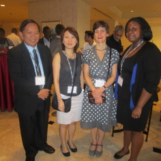 During May 2013, CommsConsult's Megan and Nyasha travelled to Jakarta, Indonesia for the GDN PEM workshop.
