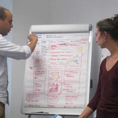 In August the CommsConsult team spent some time reflecting on our own company profile during a week-long 'Love-In' to redesign the website.