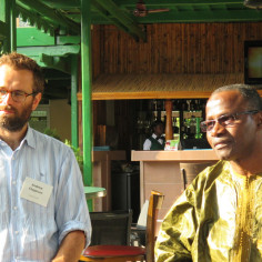 In July Megan, Andrew, Farai and Nyasha went to Accra, Ghana for the TTI-PEC workshop.