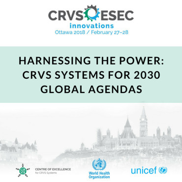 CRVS Innovations Conference 2018